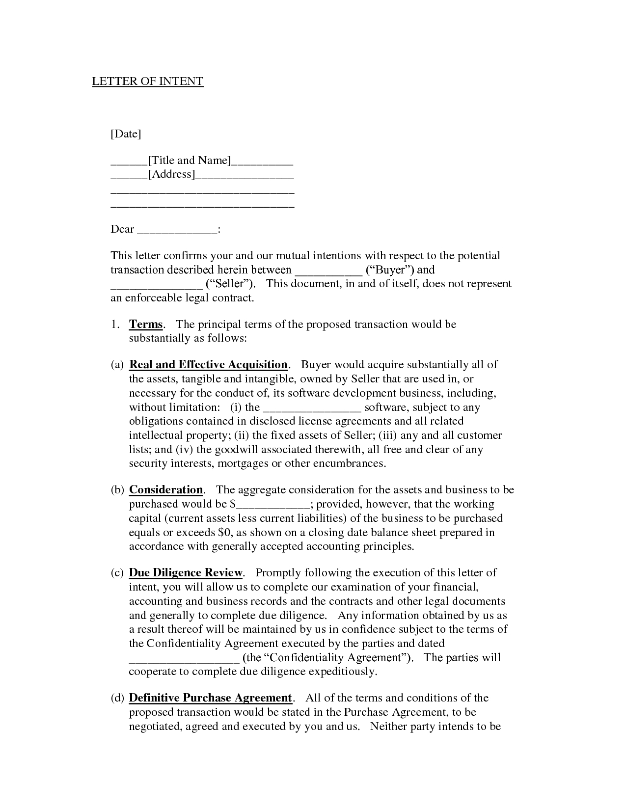 Letter Of Intent to Purchase Shares Template - Letter Tent Stock Purchase to Mon Sample Agreement Intent