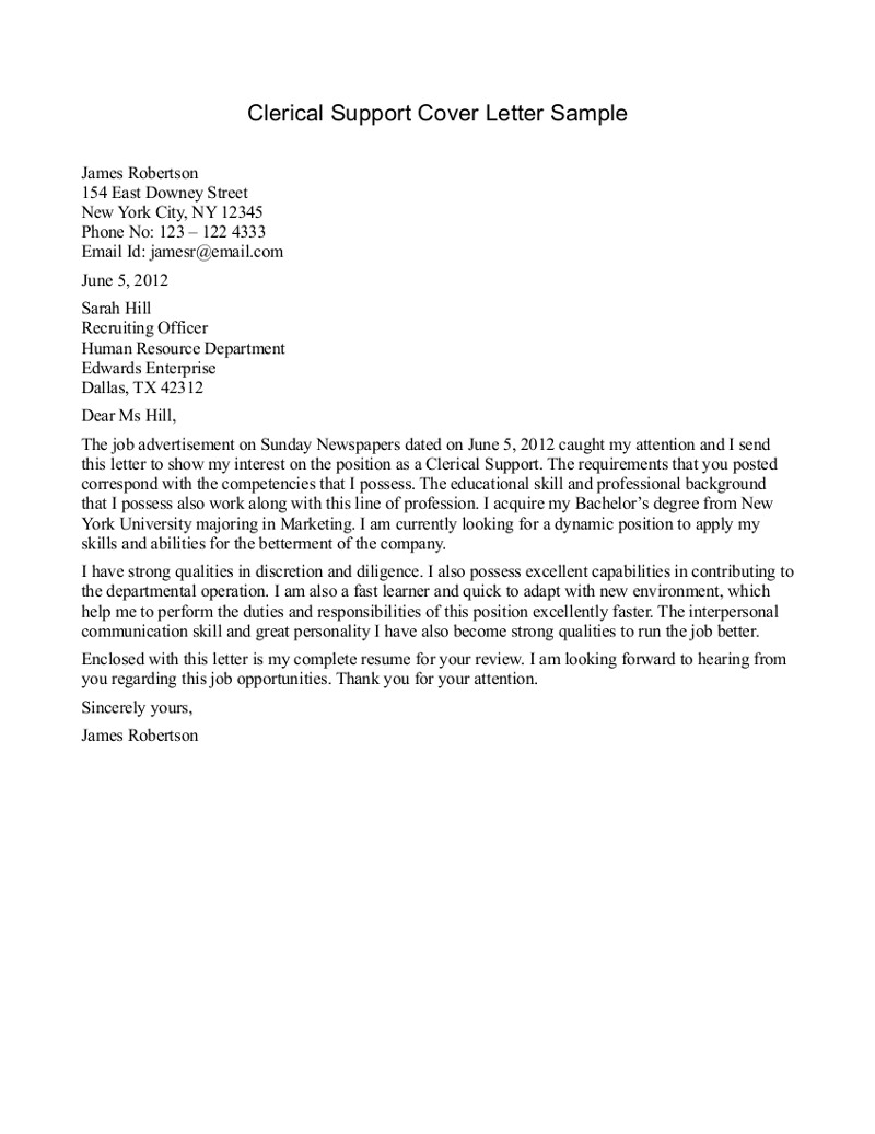 Clerical Cover Letter Template - Looking for A Custom Written Ib Extended Essay Cover Letter for