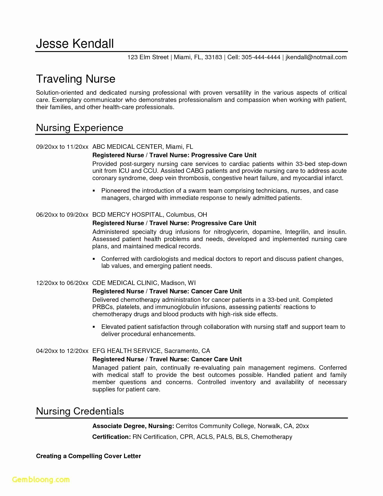 letter of collaboration template Collection-Resume format for Nursing Inspirational Registered Nurse Resume S I Pinimg 736x 8d 0d D8 4-t