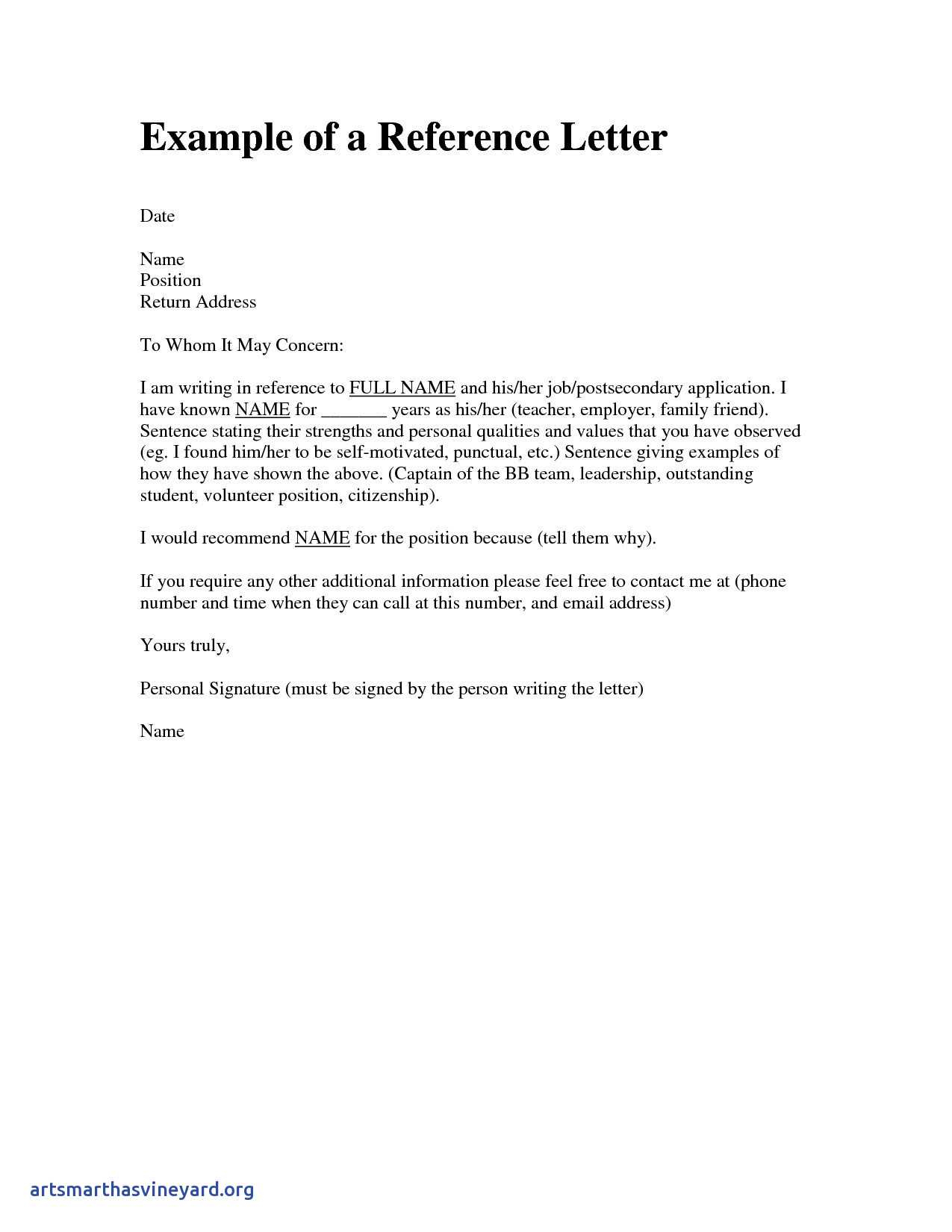 Reference Letter for Friend Character Template - Luxury Character Reference Letter for A Friend Sample Scheme Free