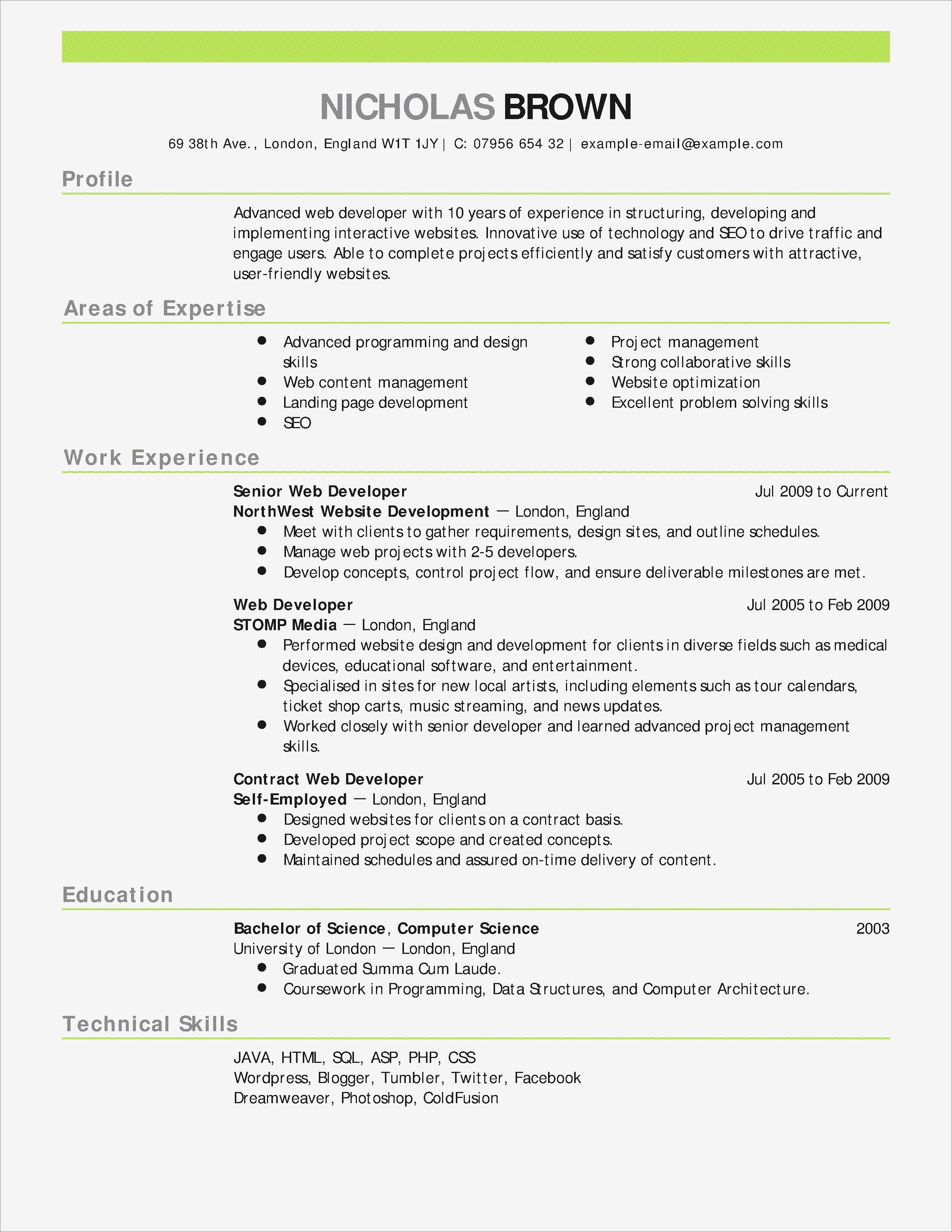 Maintenance Experience Resume Reference Elegant Cover Letter Writing
