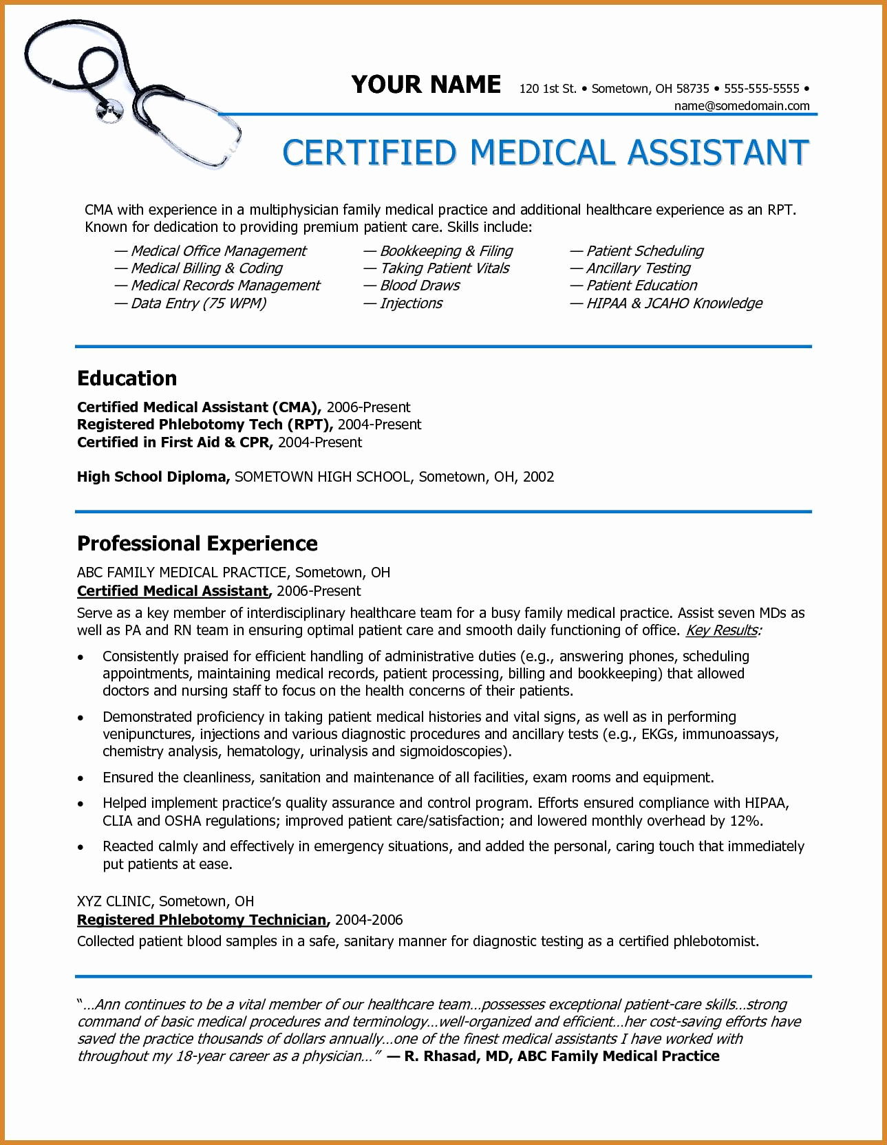 medical scribe resume 2 medical scribe resume examples foodcity me