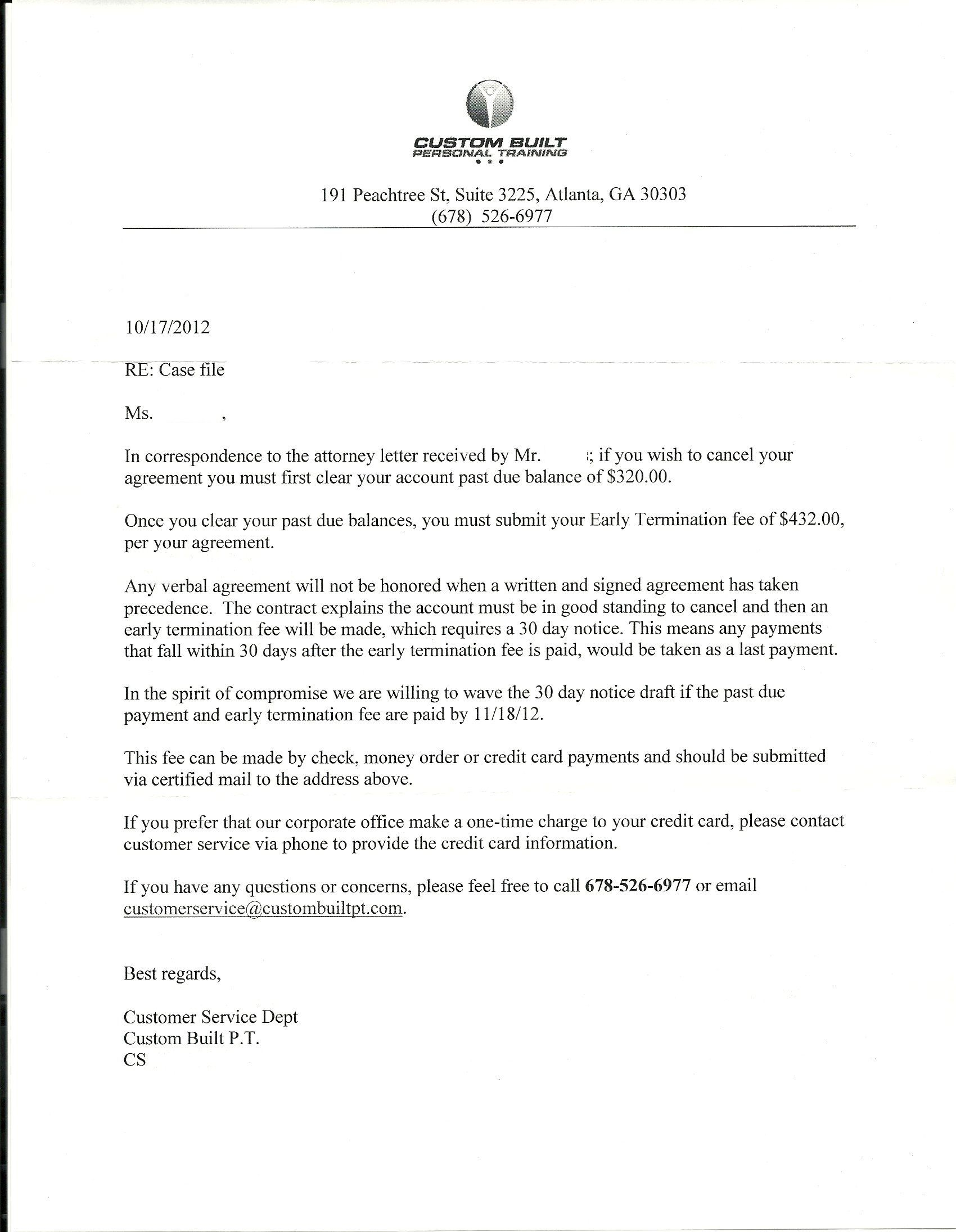 Late Rent Letter Template - Negative Response Of Seller to Claim Letter Saferbrowser Yahoo
