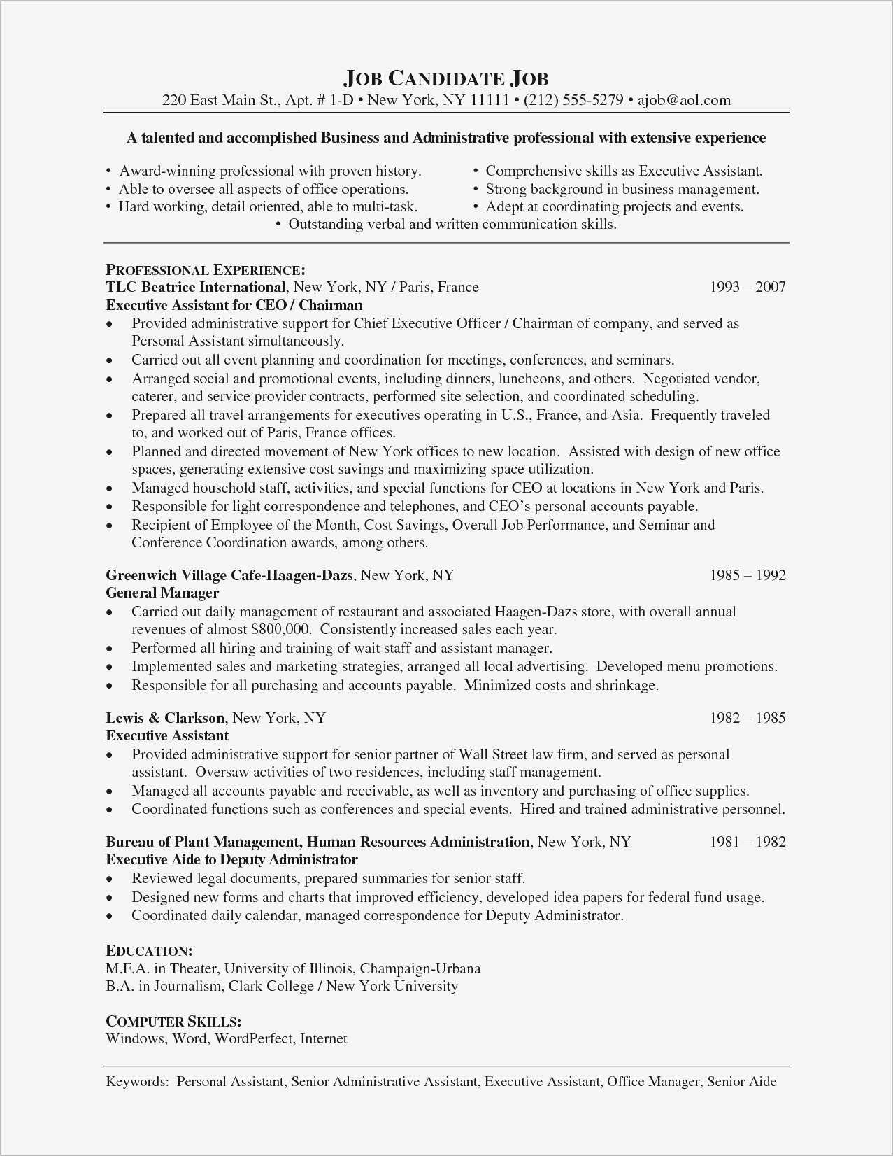 Open Office Cover Letter Template Samples