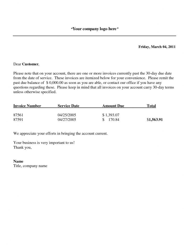 Past Due Invoice Letter Template - Past Due Memo Save Template Past Due Balance Letter Template