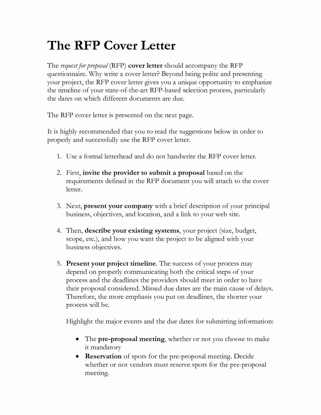 Rfp Cover Letter Template - Perfect Rfp Response Examples Do34 – Documentaries for Change