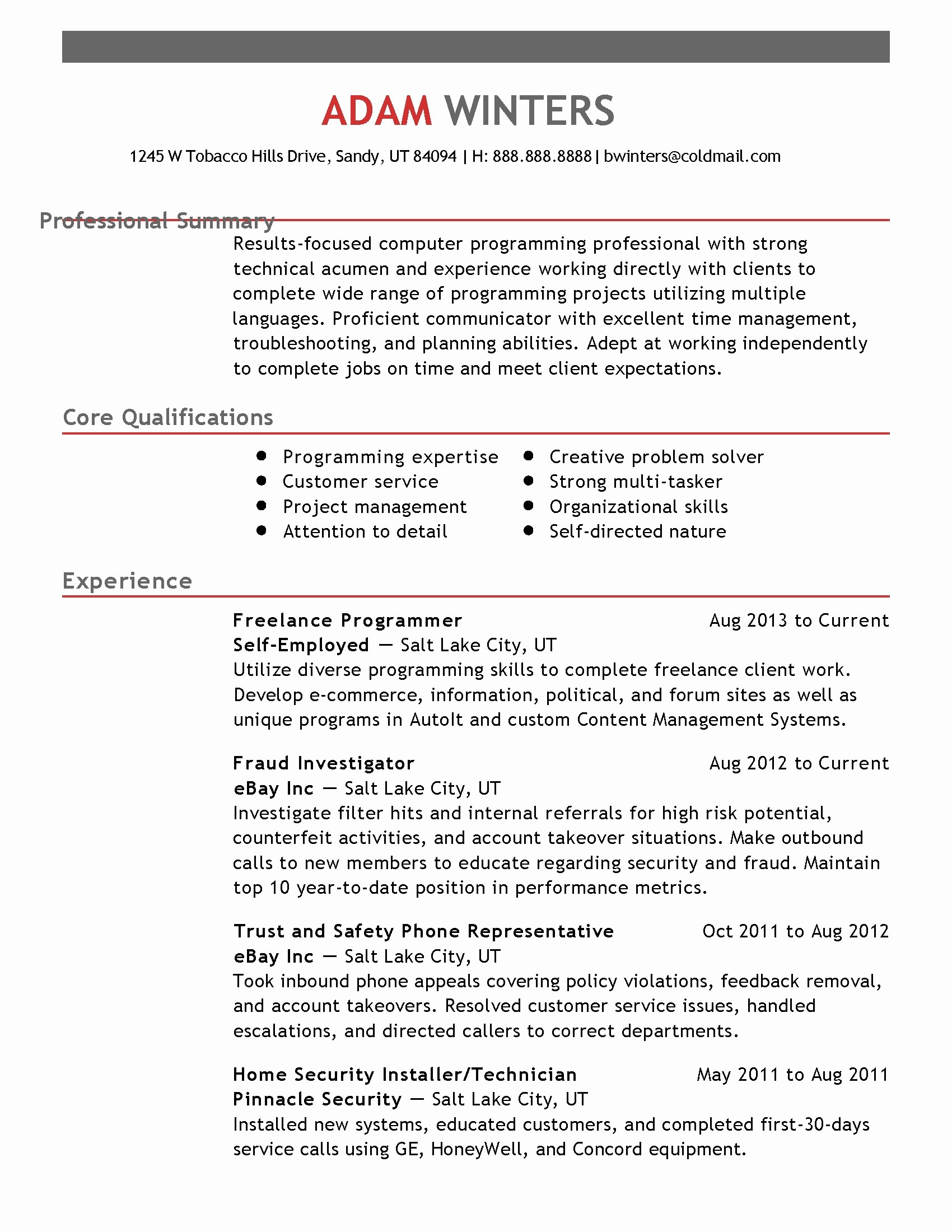 Rfp Cover Letter Template - Performance Resume Template Unique Detailed Resume Template Luxury