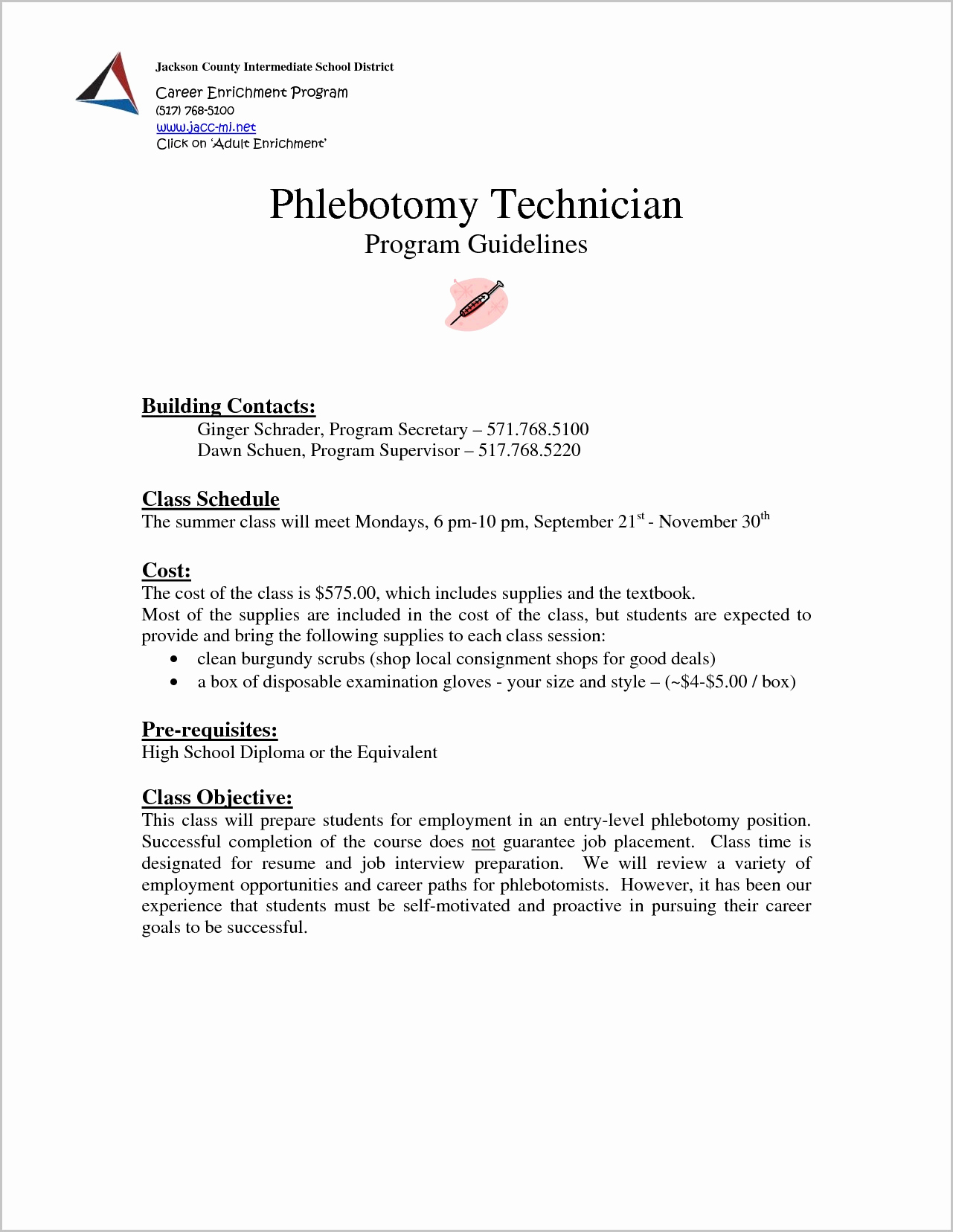 Entry Level Cover Letter Template Free - Phlebotomy Cover Letter Samples Acurnamedia
