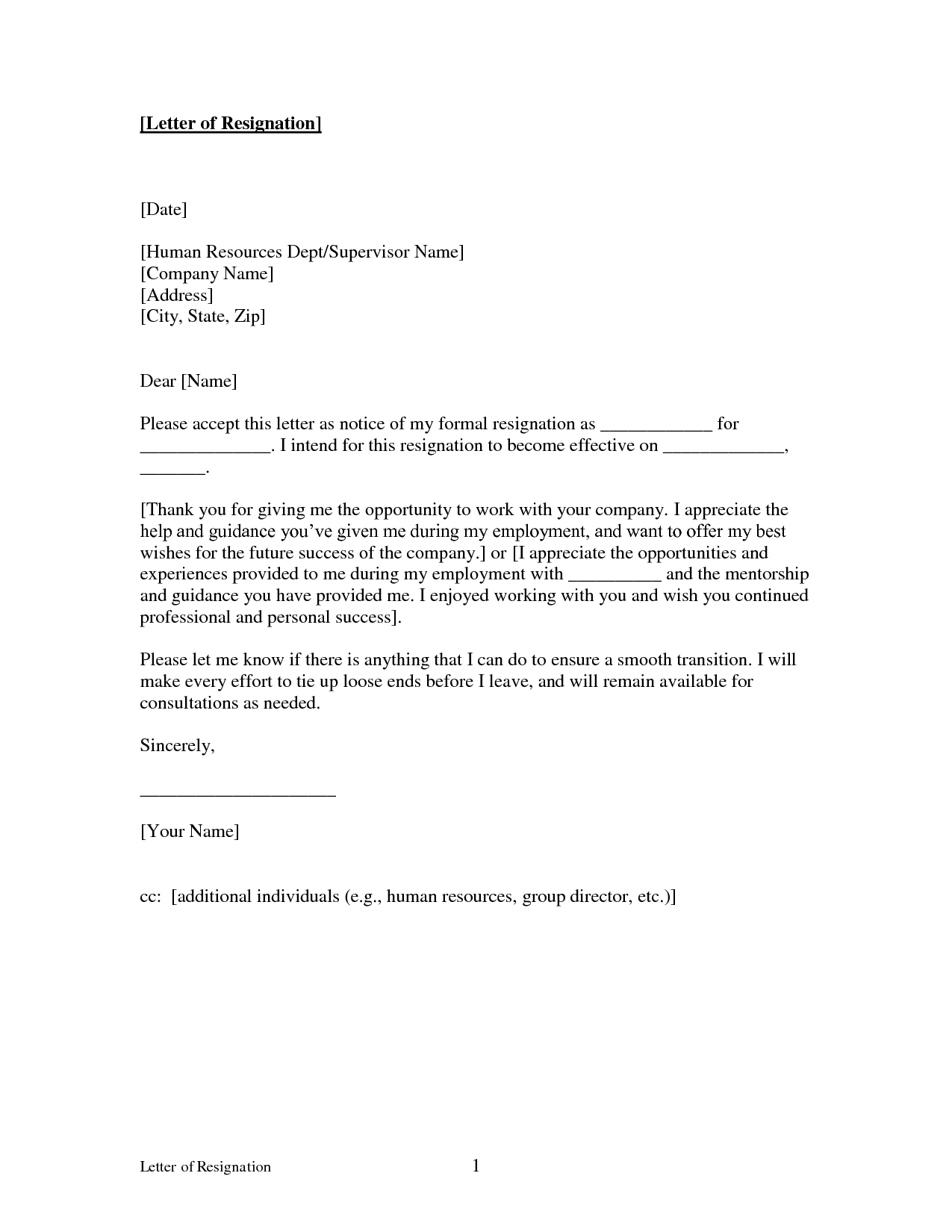 Real Estate Commission Letter Template - Printable Sample Letter Of Resignation form