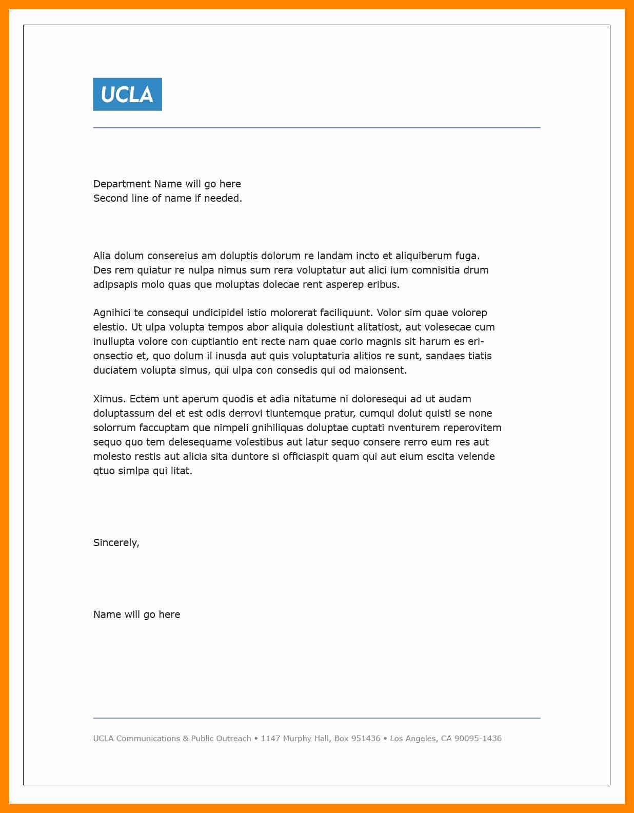 Cute Cover Letter Template - Professional Cover Letter Sample
