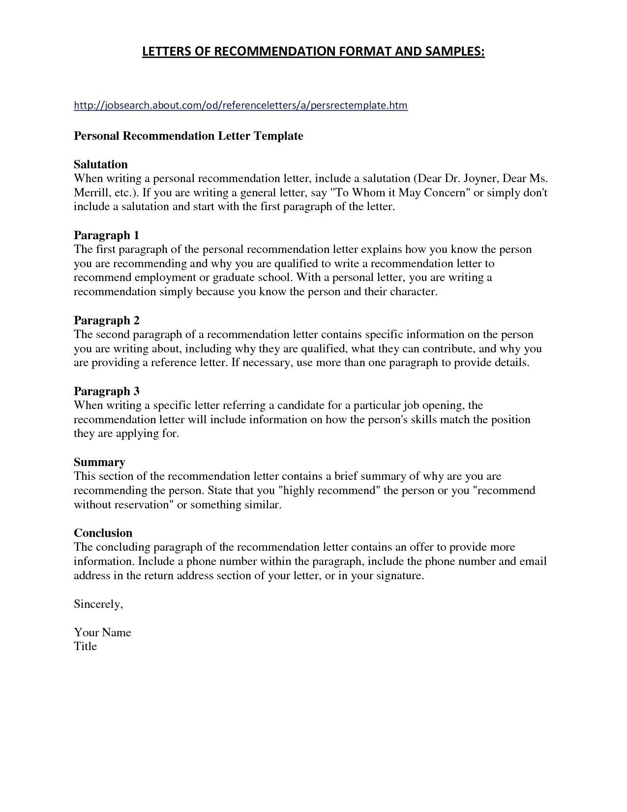 Professional Letter Of Recommendation Template - Promotion Re Mendation Letter for Employee Best Sample Re