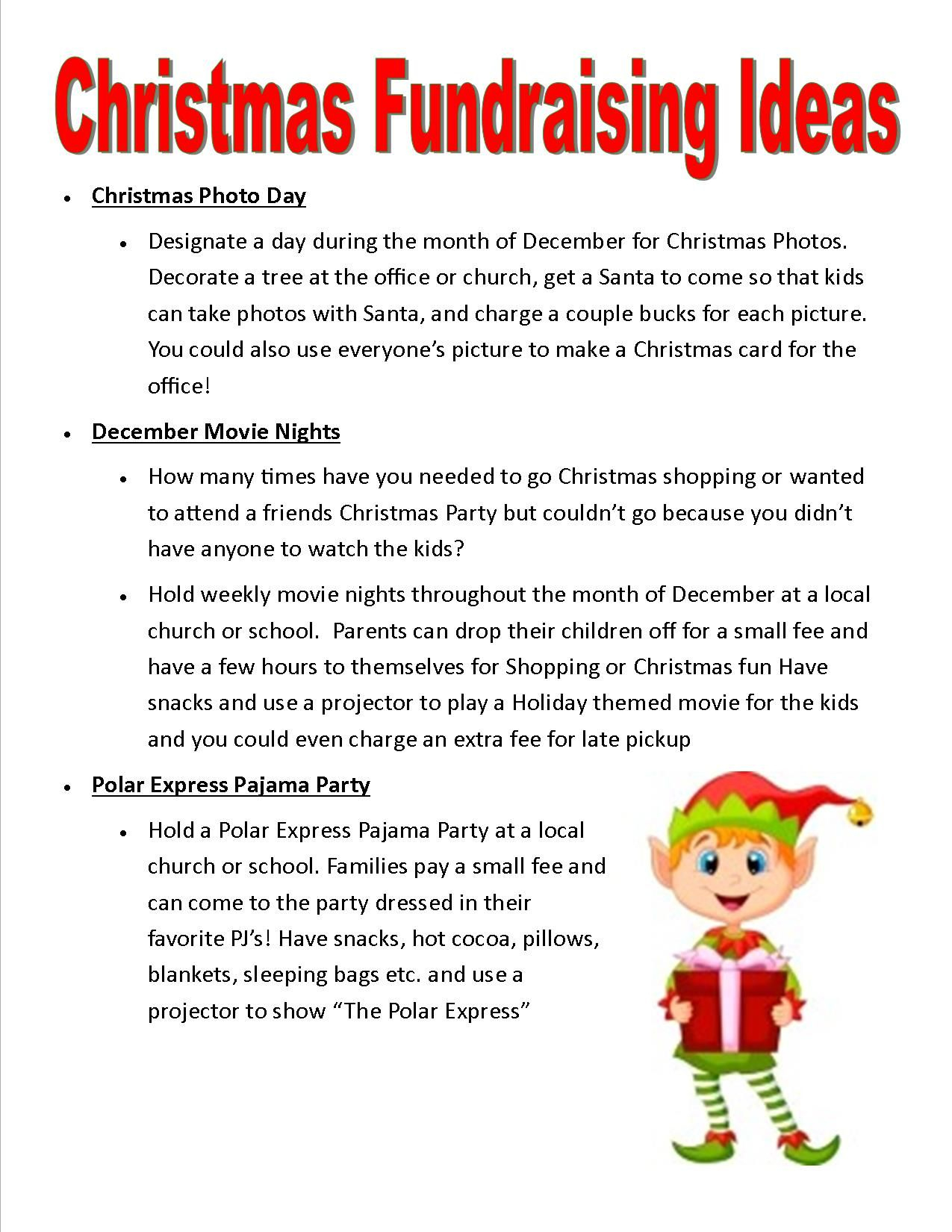 Christmas Party Donation Letter Template Samples | Letter Cover ...