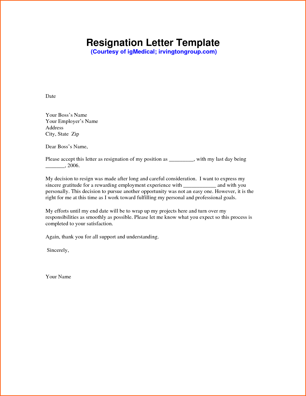 Assisted Living 30 Day Notice Letter Template - Resignation Letter Sample Pdf Mechanical Engineering Resume Template