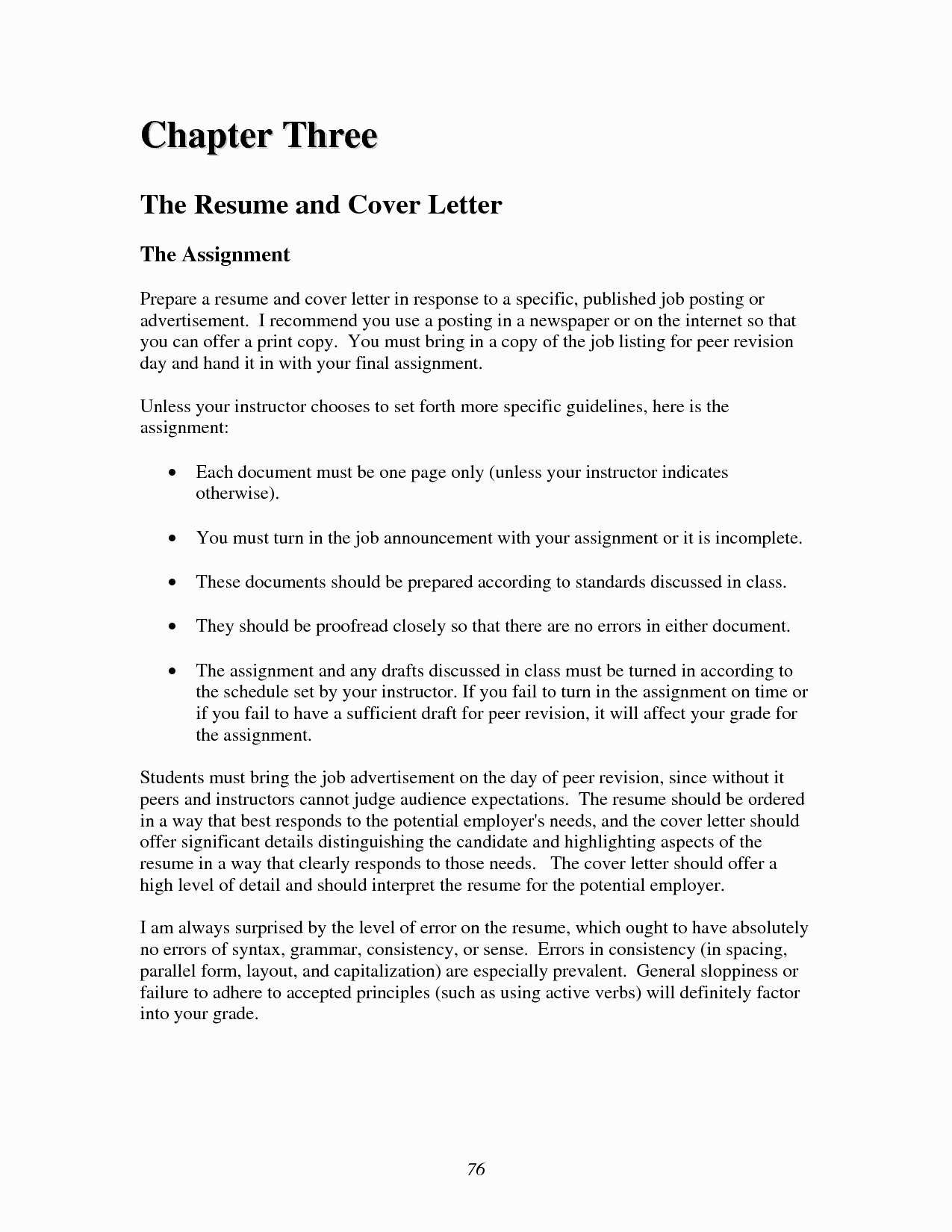 Cv Cover Letter Template Examples