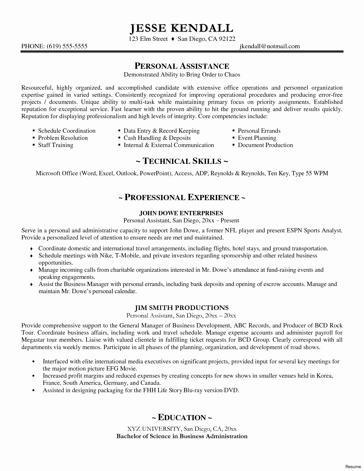 Hospitality Cover Letter Template - Resume Cover Letter Template Word Best Accounts Executive Resume