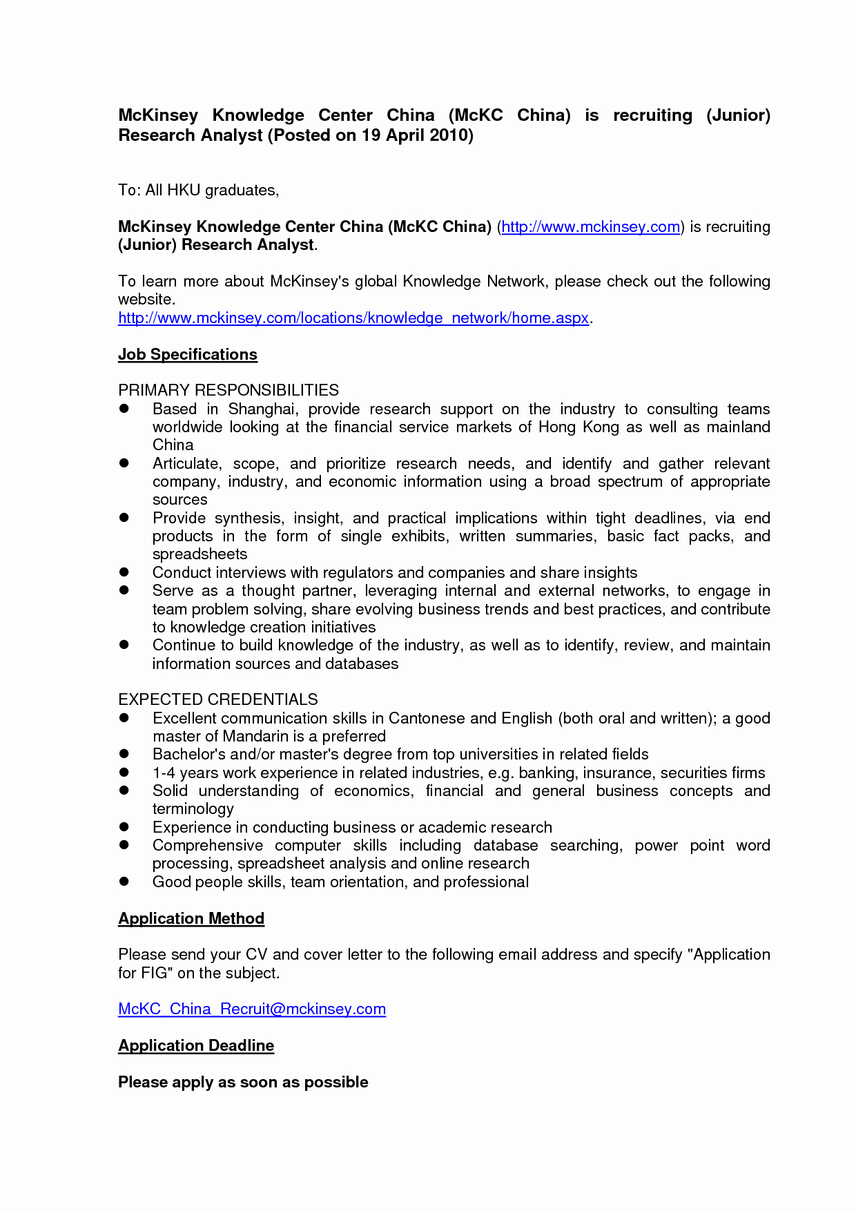 Cover Letter Template for It Job - Resume Cover Letter Template Word Unique Od Consultant Cover Letter