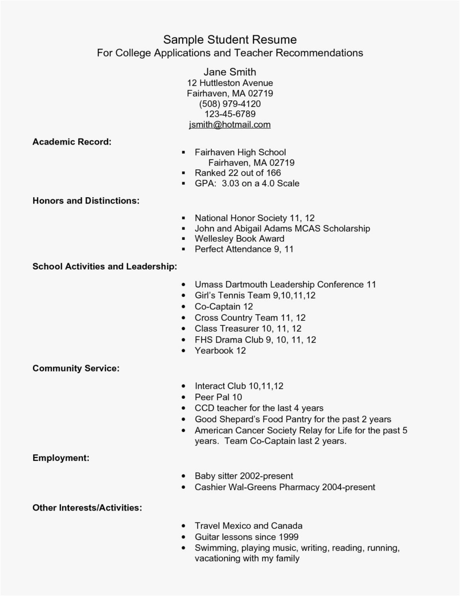 Graduate School Cover Letter Template - Resume Examples for Graduate School Application format Elegant