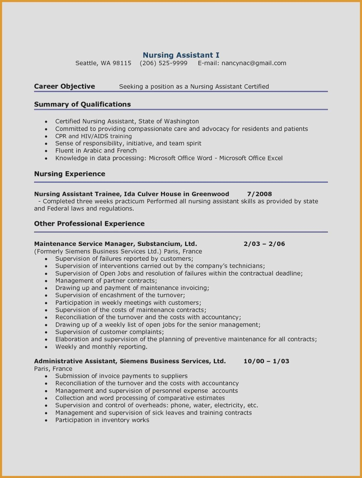 Part Time Job Offer Letter Template - Resume for Part Time Job Unique 20 Work Experience Resume Example