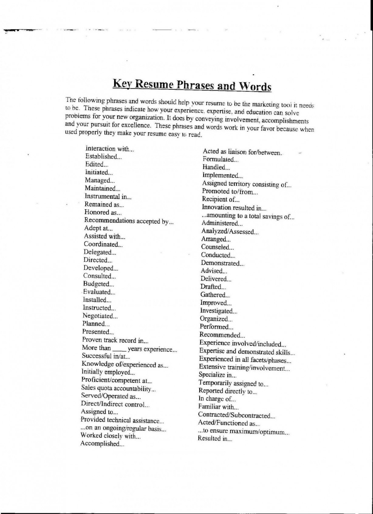 Reference Letter Template Word Document - Resume Keywords List Unique Cover Letter Buzz Words Gallery