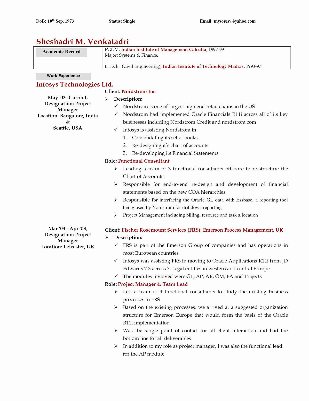 Personal Cover Letter Template - Resume Personal Statement Examples Elegant Od Consultant Cover