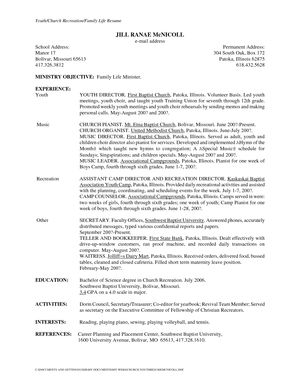 School Secretary Cover Letter Template Collection | Letter Cover ...