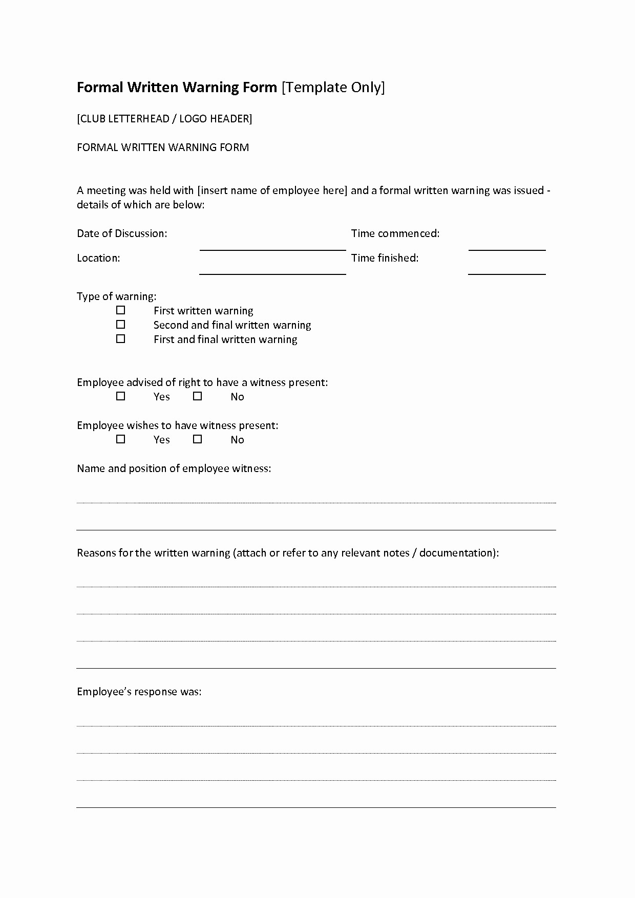 Verbal Warning Letter Template - Resume Templates Archives Page 21 Of 60 Shungite Co