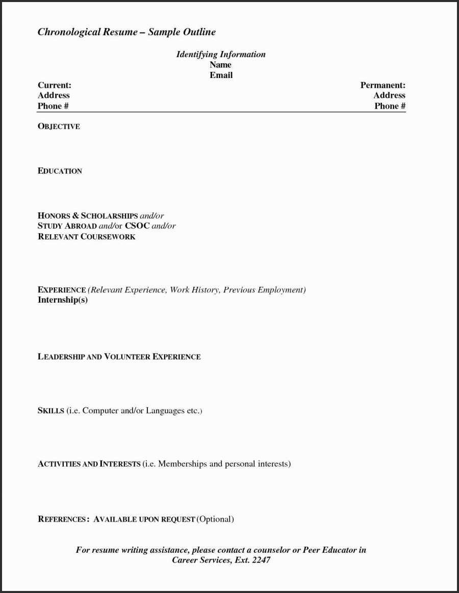 Letter Outline Template - Resume Templates Cover Letter and Resume Template How to format A