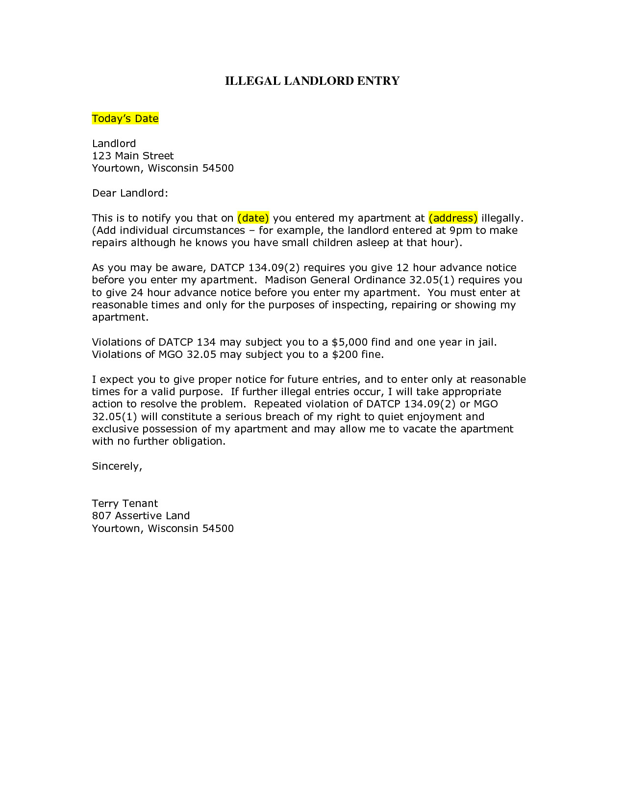 Security Deposit Demand Letter Template Florida - Return Security Deposit Letter Landlord Well Besides – Skyscrappersfo