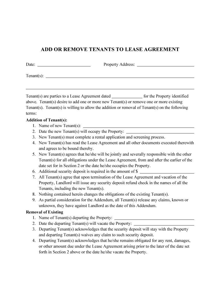 Sublet Letter Template - Roommate Agreement Template 02 Lease Pinterest