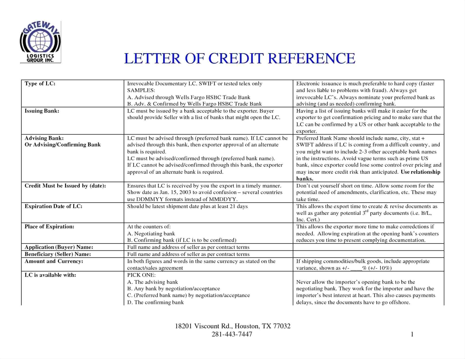 Irrevocable Letter Of Credit Template - Sample Beneficiary Certificate Letter Credit Fresh Affidavit
