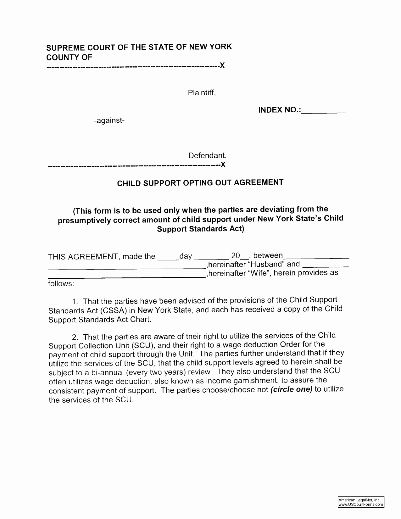 Sample Child Support Letter Template - Sample Child Support Letter Template Awesome Easement Template 17