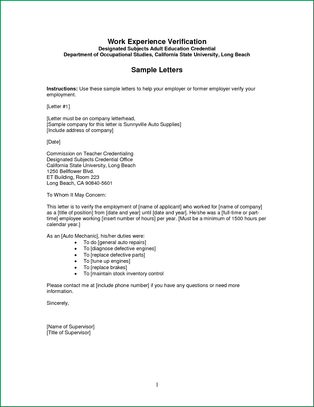rental offer letter template