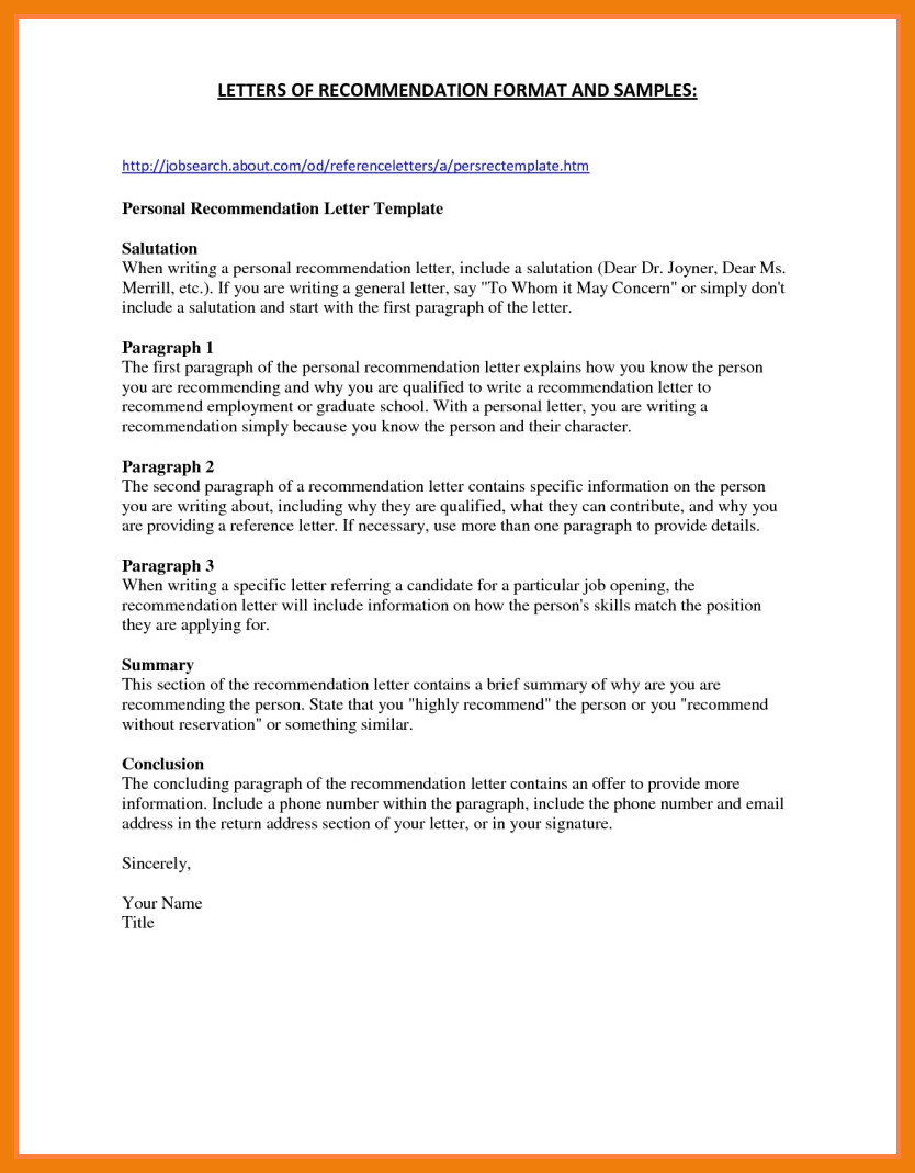 Grad School Letter Of Recommendation Template - Sample Letter Re Mendation for Graduate School From Coworker