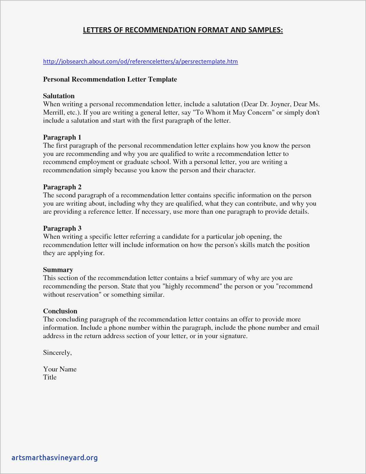 Good Character Reference Letter Template - Sample Personal Reference Letter for A Friend Samples From Character