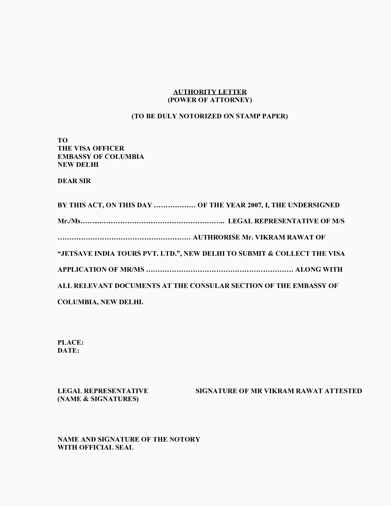power of attorney resignation letter template Collection-sample poa letters power of attorney resignation 19-g