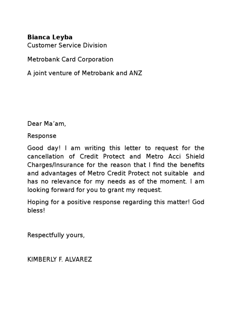 insurance policy cancellation letter template service cancellation letter sample