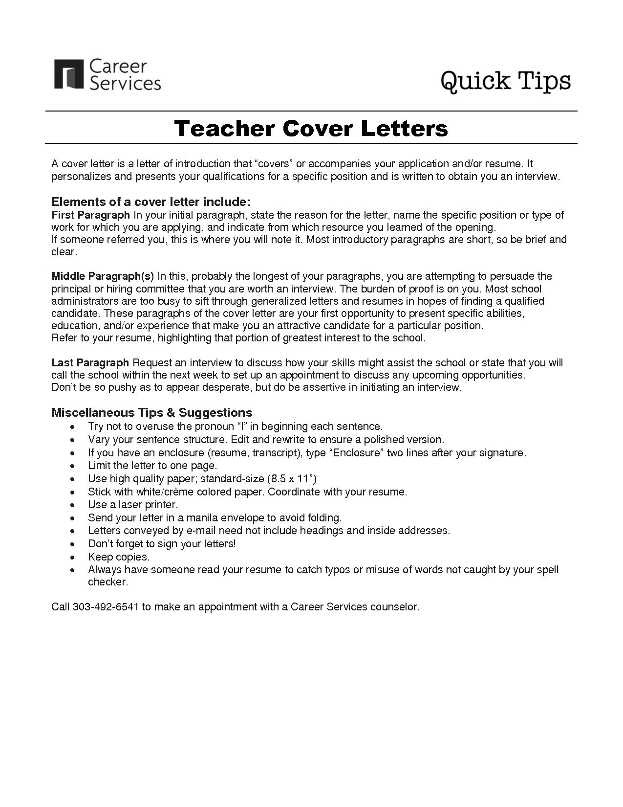 Short Cover Letter Template - Should Cover Letters Be Short