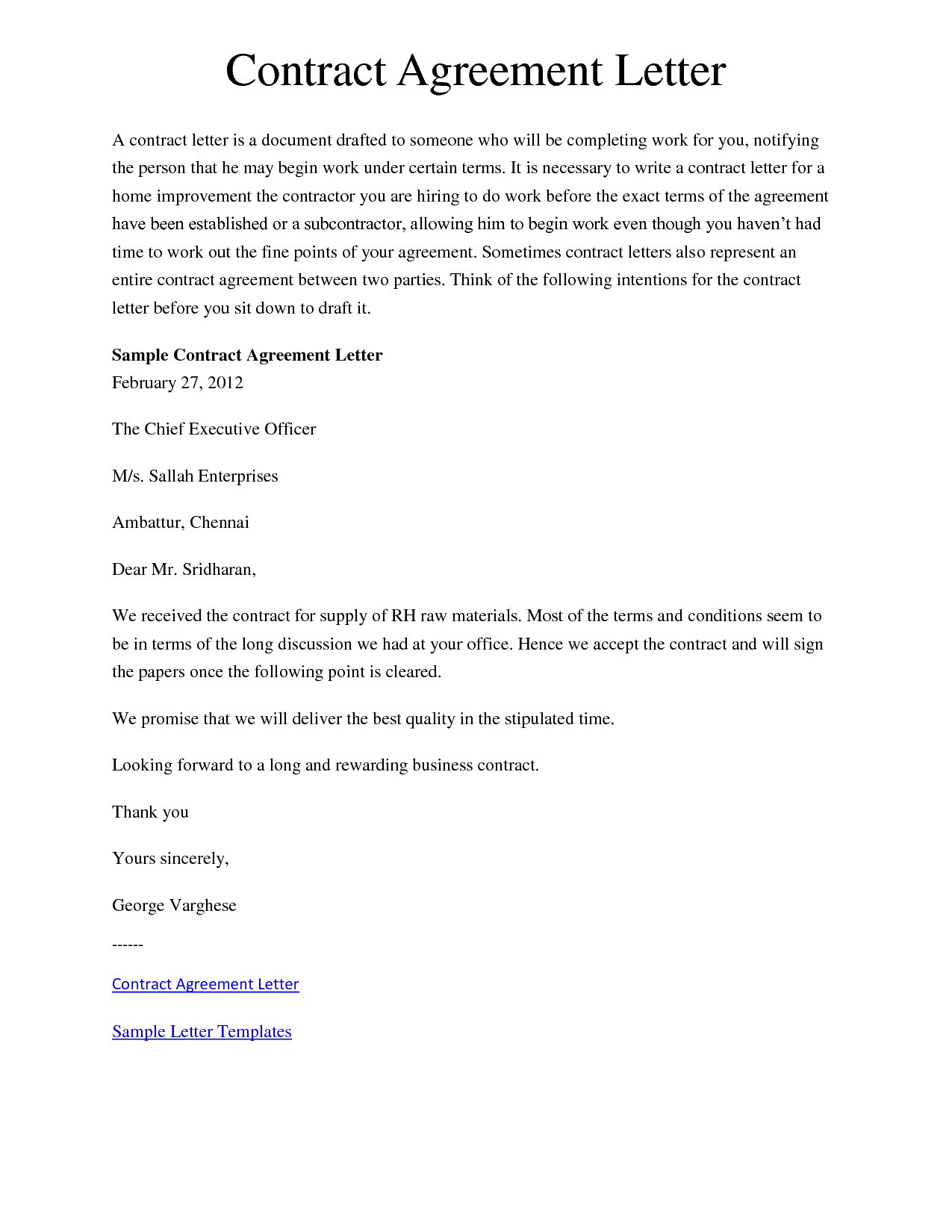 Settlement Agreement Letter Template - Simple Contract Agreement Best Sample Settlement Agreement