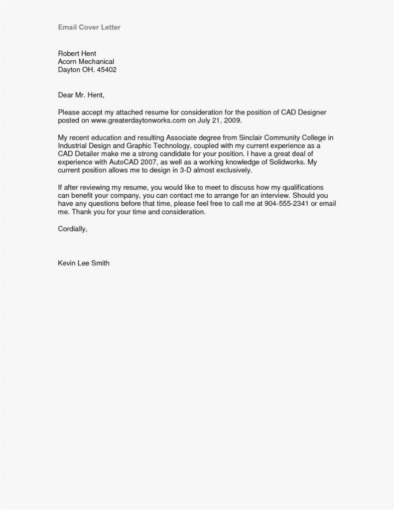 Good Cover Letter Template - Simple Resume Cover Letter Template Roddyschrock