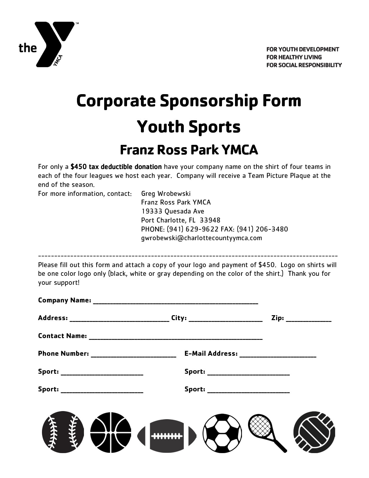 Fundraising Letter Template for Sports Teams - Sponsorship Letter Template for Sports Team