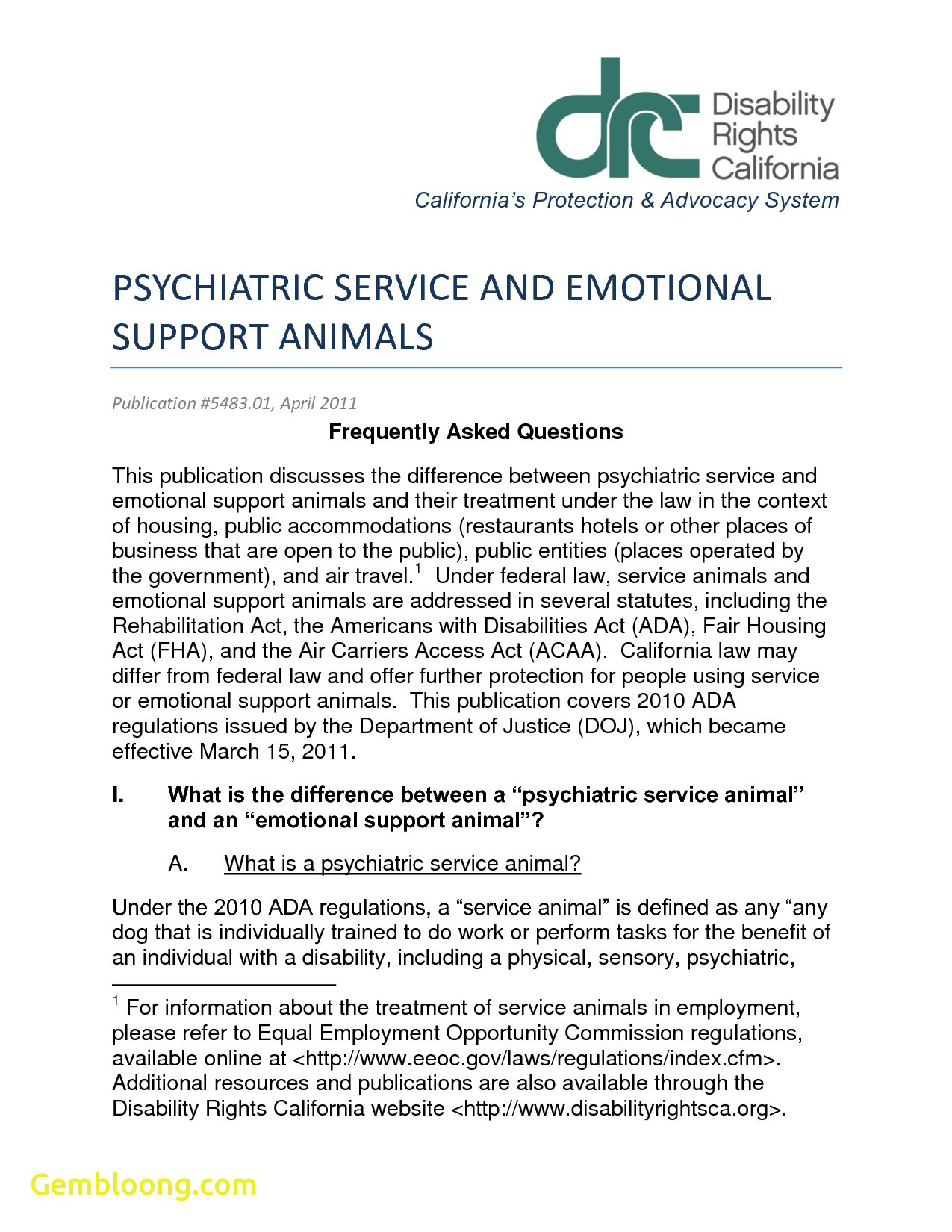 Emotional Support Animal Letter Template - Staggering Emotional assistance Animal Letter