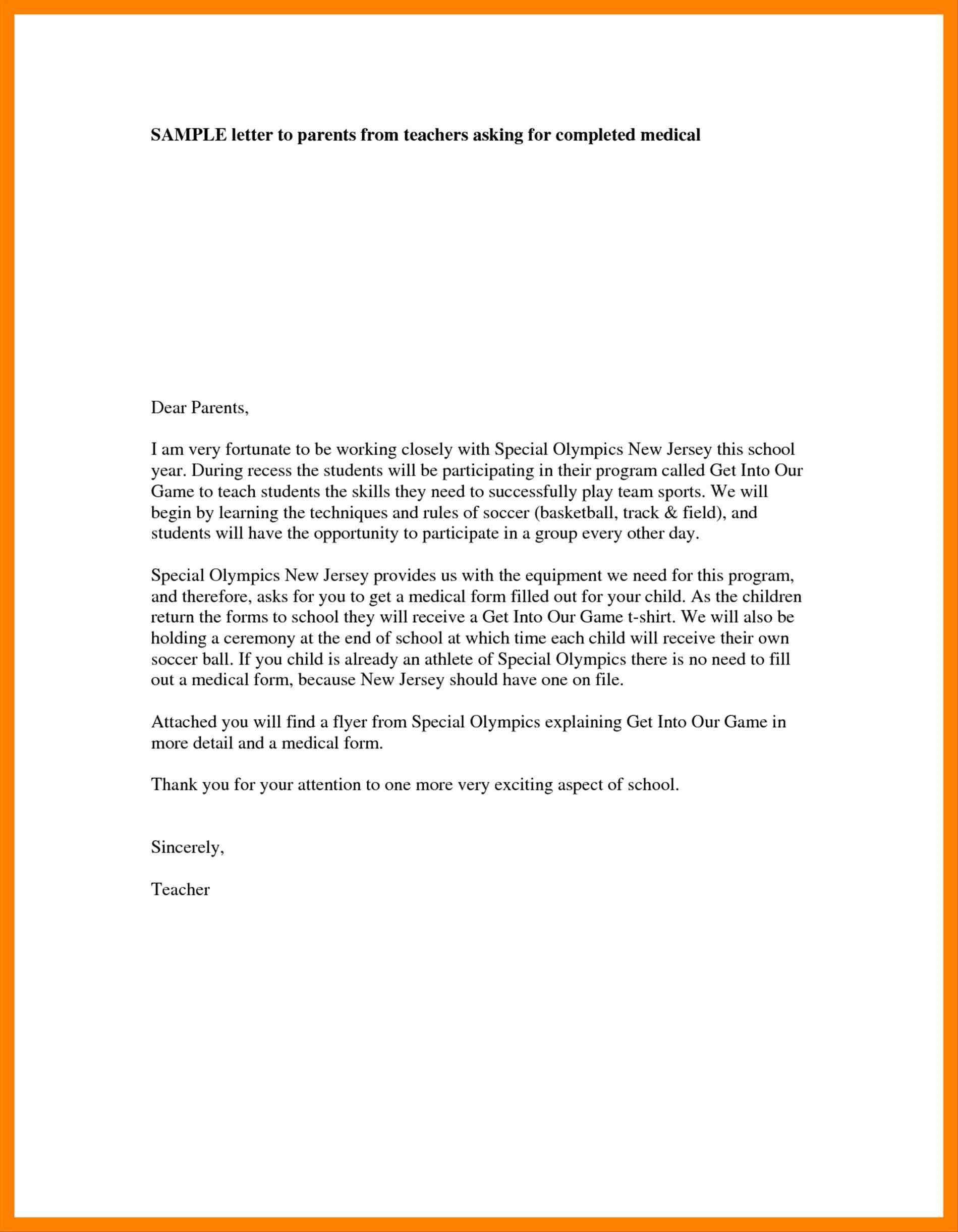 4 teacher introduction letter to parents template introduction