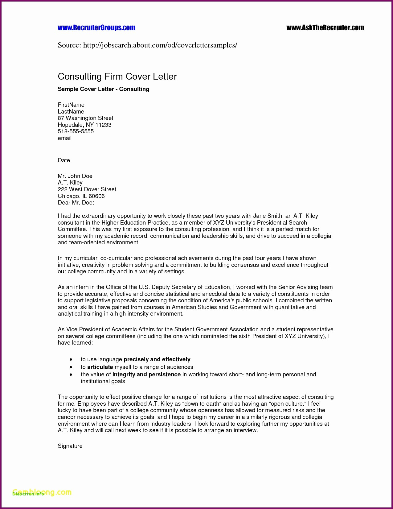 Rent Free Letter From Parents Template Examples