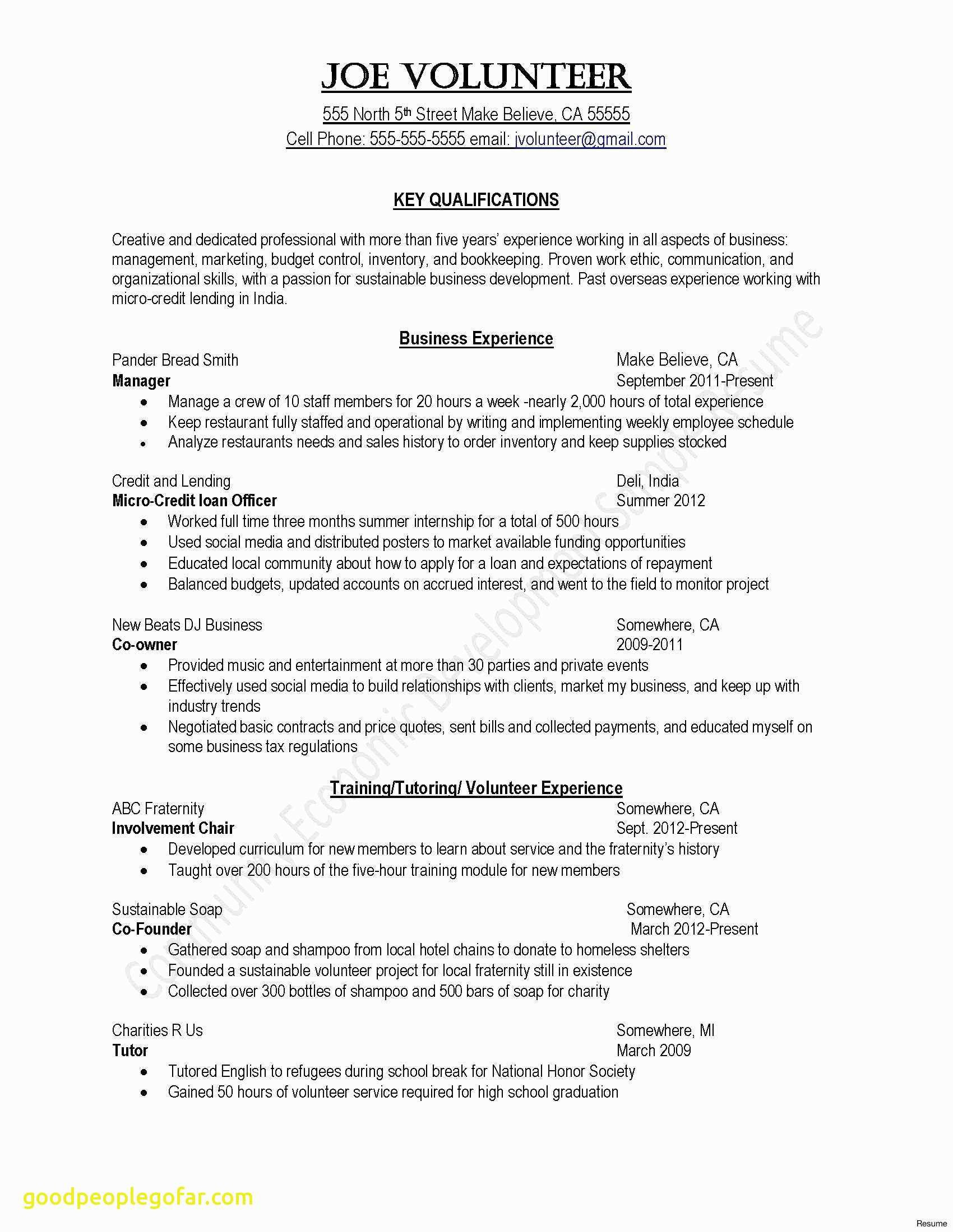 Letter Of Intent Template Word - Template for Resume Word Roddyschrock