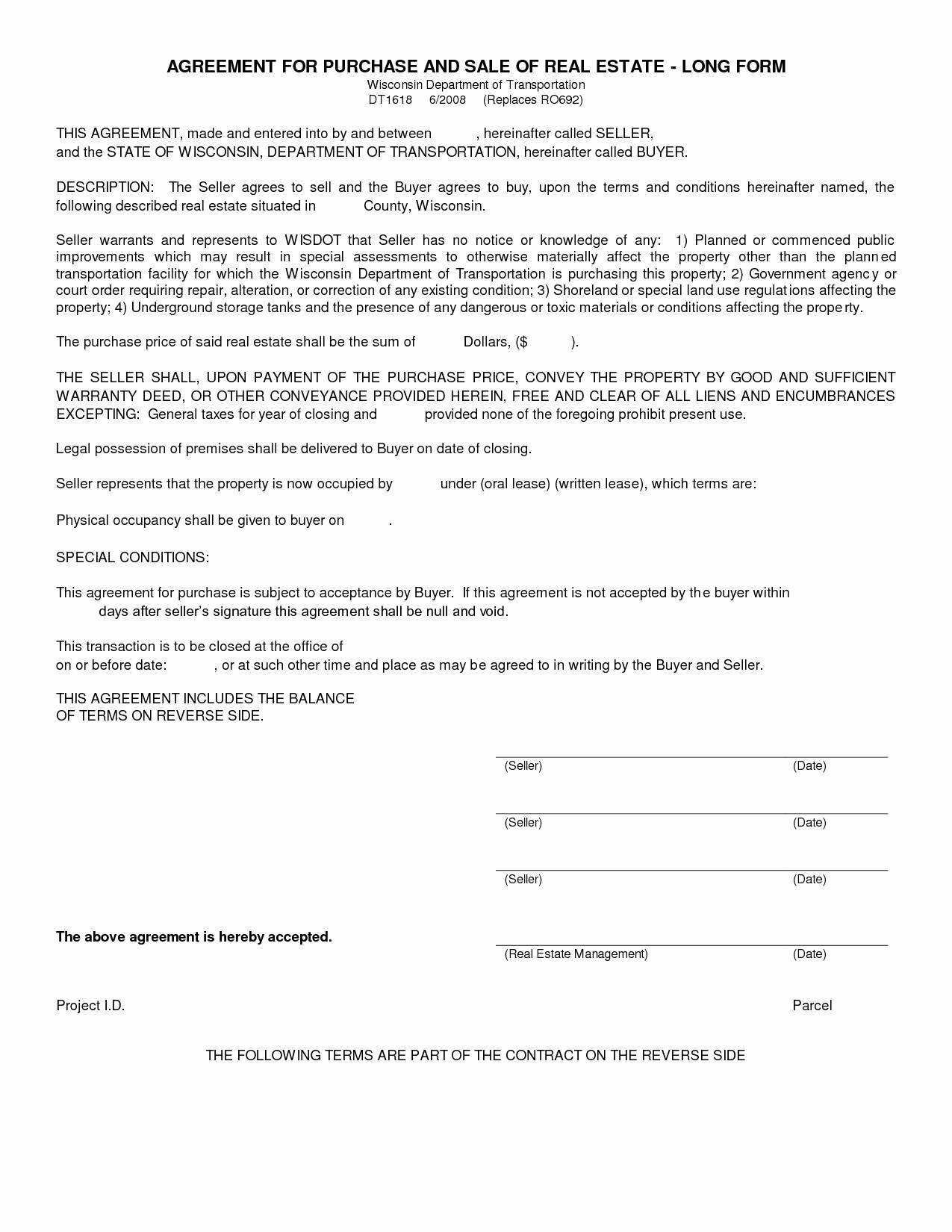 Tenant Eviction Letter Template - Tenant Eviction Letter Template Luxury Blank Purchase Agreement Pdf
