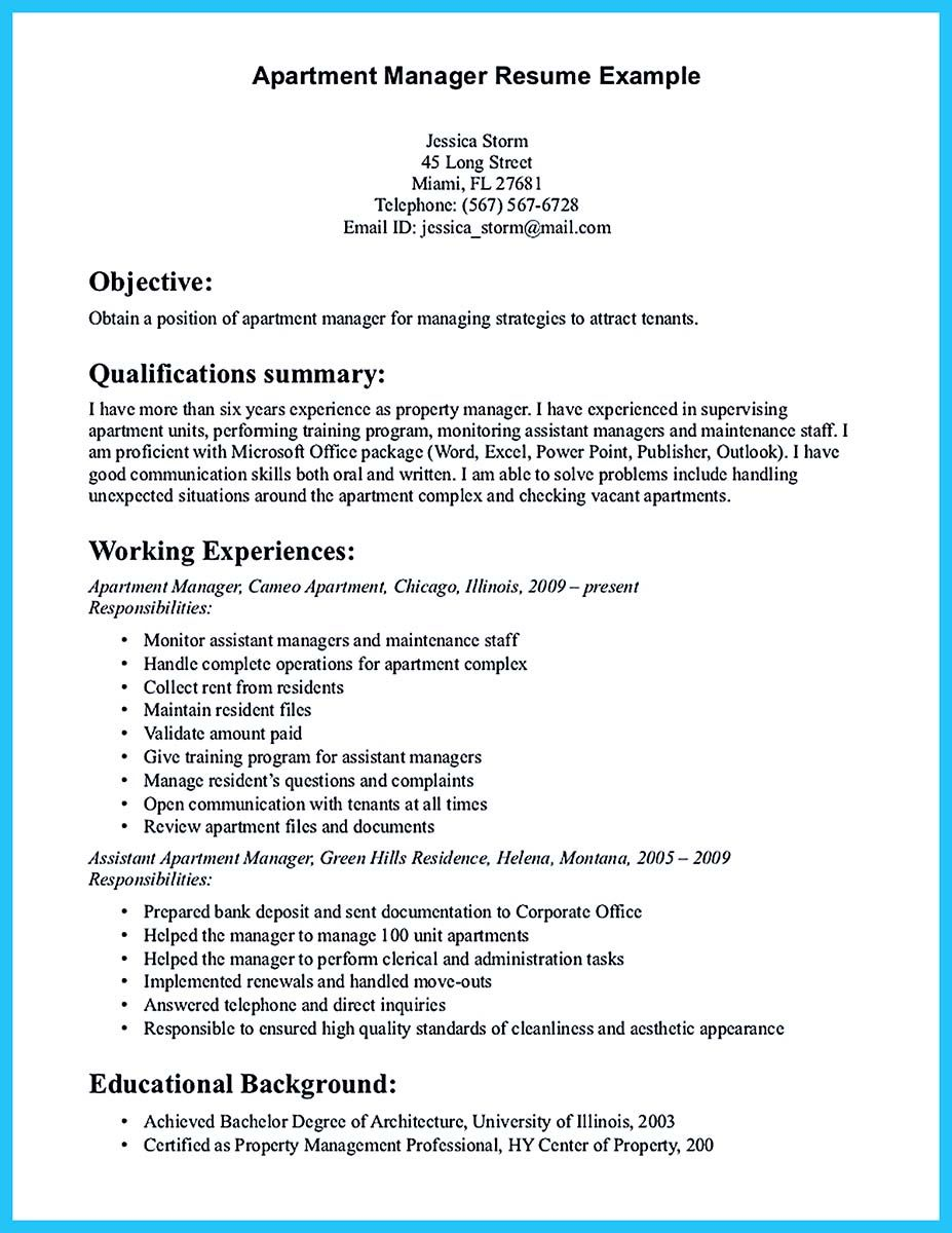 Property Management Proposal Letter Template - there are Several Parts to Write Your assistant Property Manager