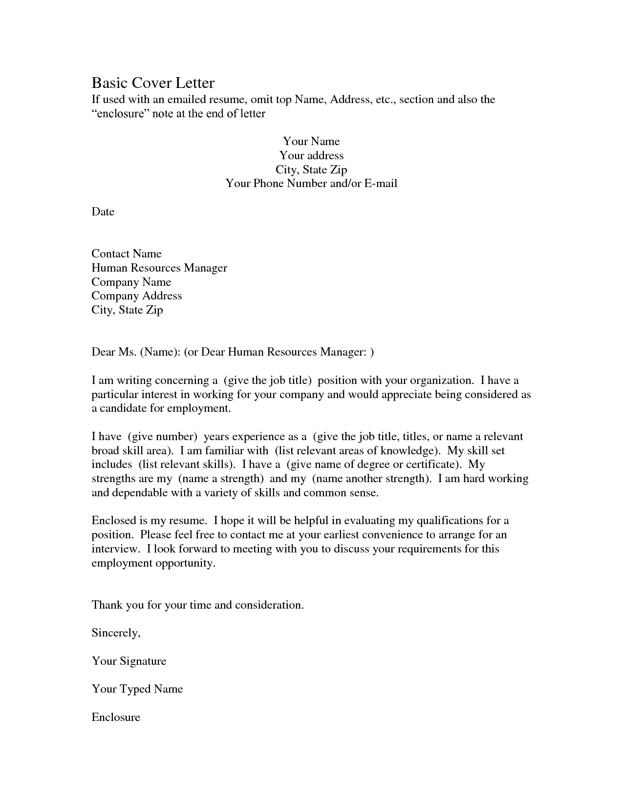Employer Doesn T Offer Health Insurance Letter Template Collection