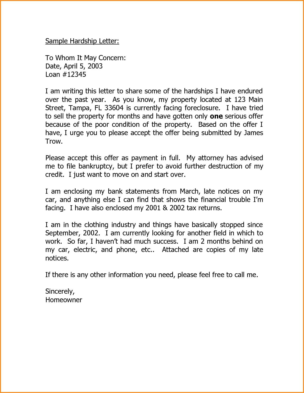 to whom it may concern letter sample and format