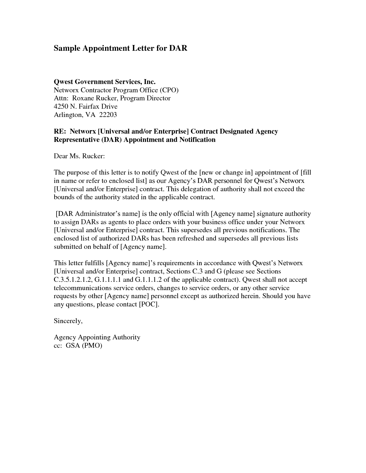 Free Collection Letter Template - Trustee Appointment Letter Director Trustee is Appointed or
