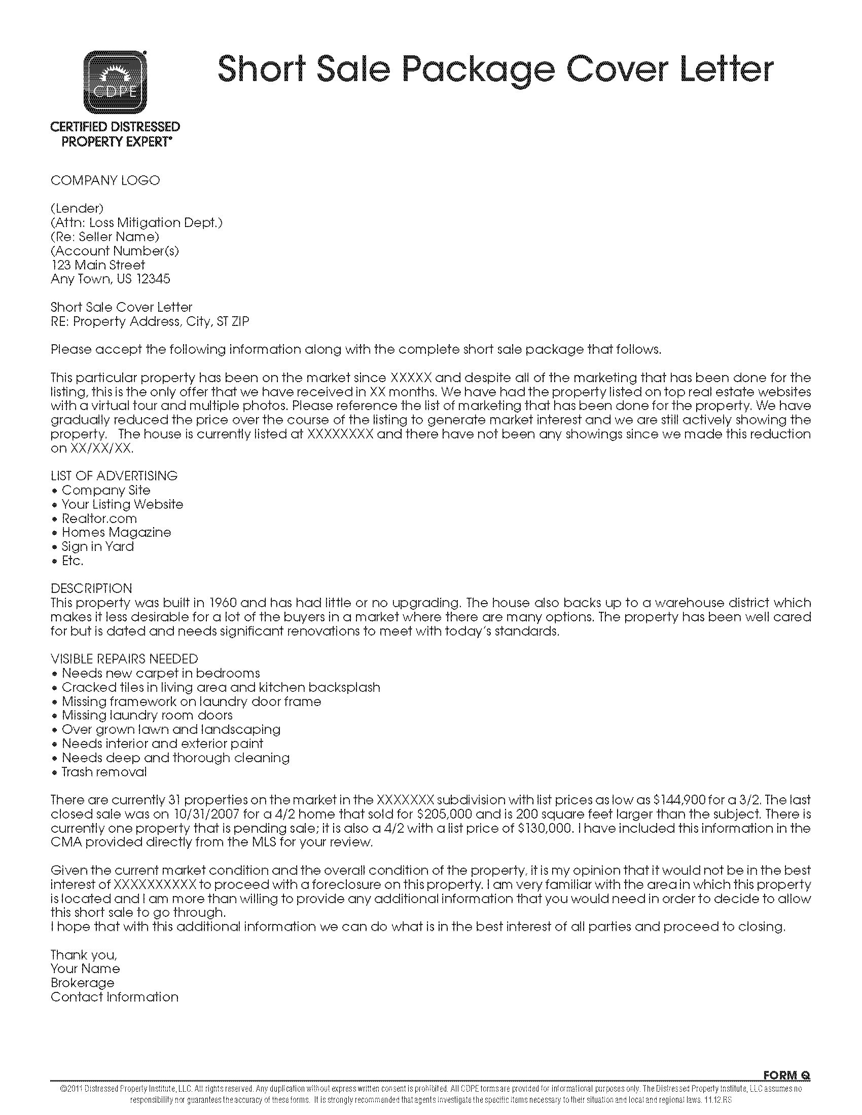Letter to Seller From Buyer Template - Unique Corporate Express Templates